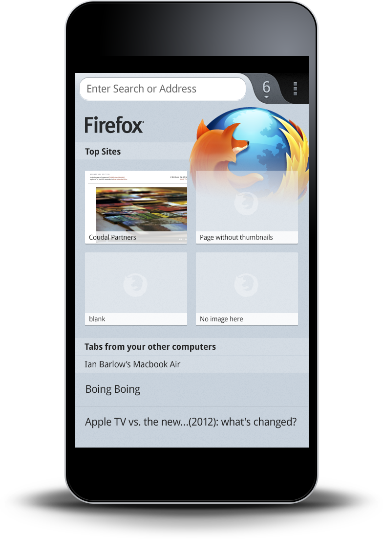 Firefox for Phones and Tablets