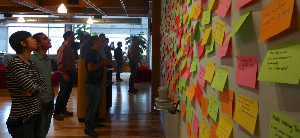 Affinity Diagramming with Firefox in Toronto